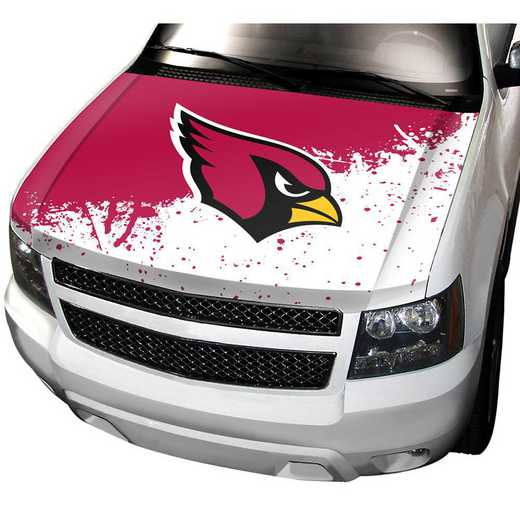 HCNF01: Arizona Cardinals Auto Hood Cover