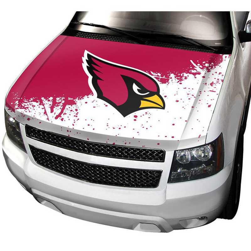 HCNF01: Arizona Cardinals Auto Hood Cover