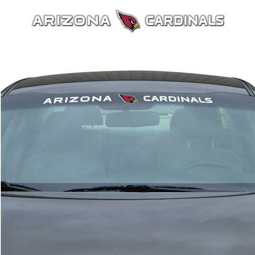 WSDNF01: Arizona Cardinals Auto Windshield Decal