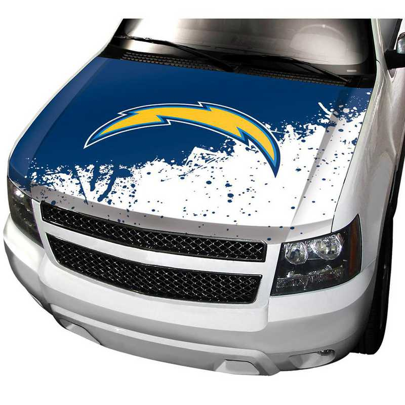 HCNF25: LA Chargers Auto Hood Cover