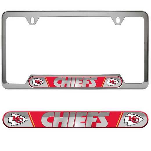 FRUNF15: Kansas City Chiefs Auto Tag Frame