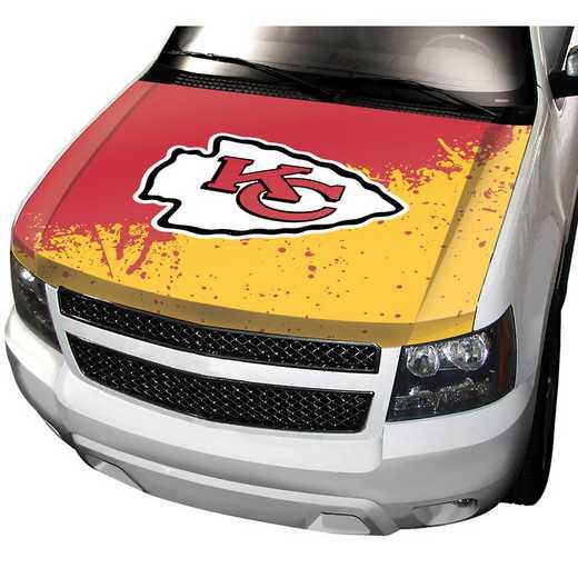 HCNF15: Kansas City Chiefs Auto Hood Cover
