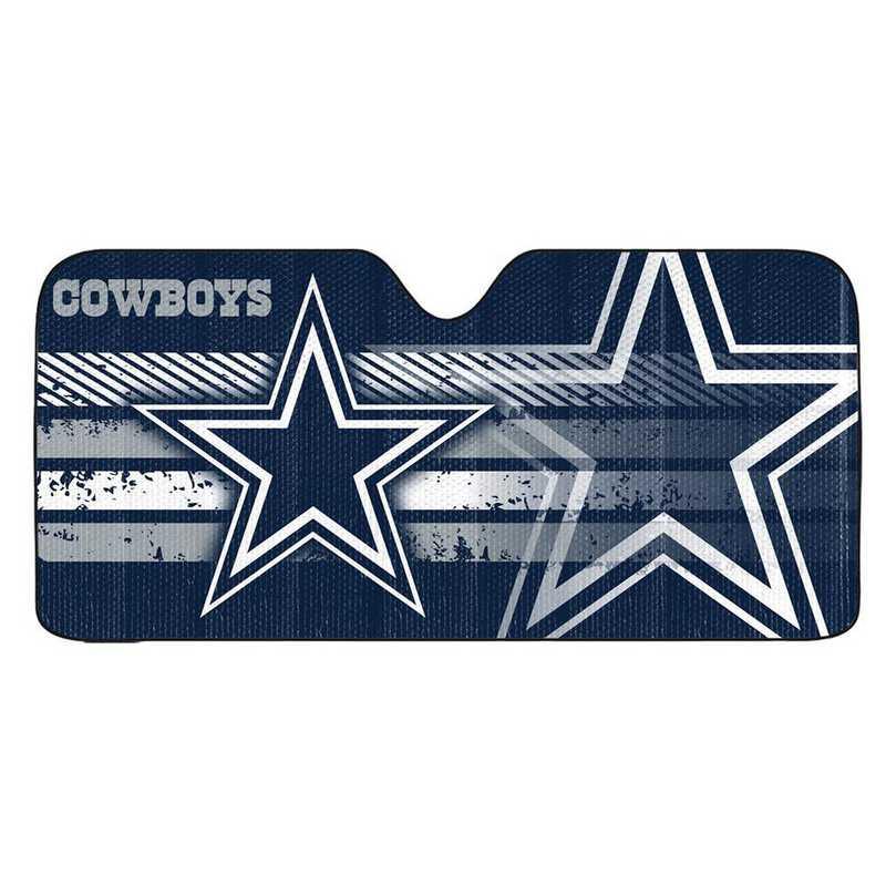 AS2NF09: Dallas Cowboys Universal Auto Sun Shade