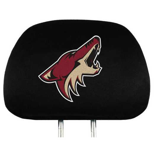 HRNH22: Arizona Coyotes Embroidered Headrest Cover Set