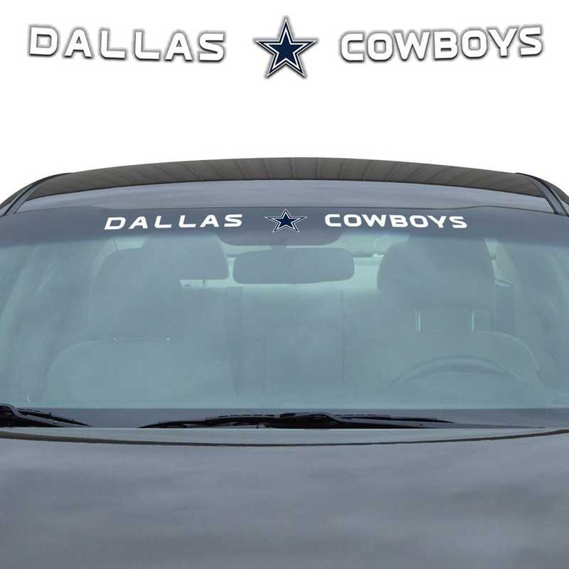 WSDNF09: Dallas Cowboys Auto Windshield Decal