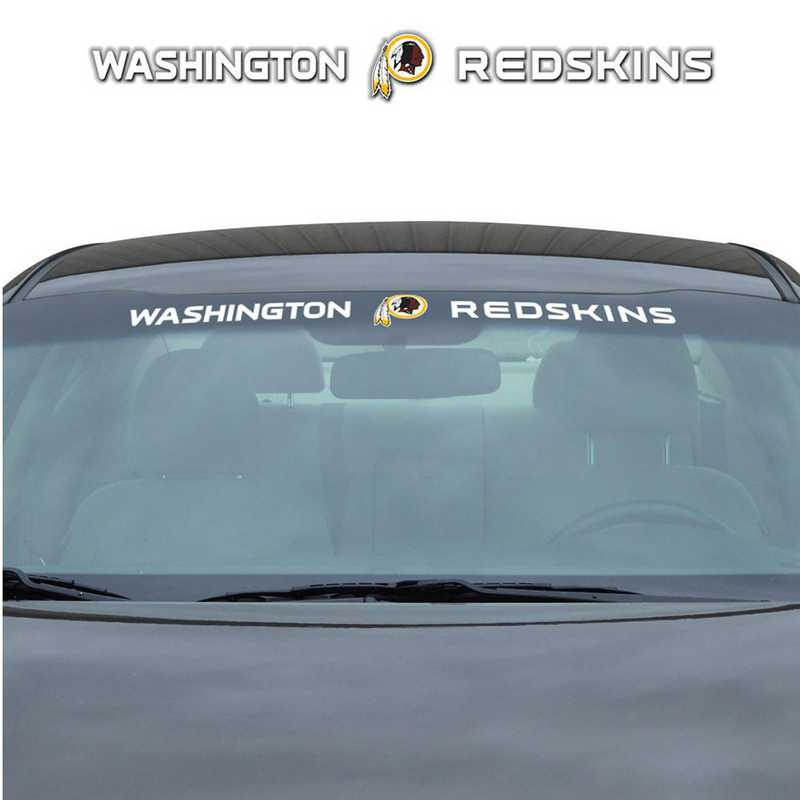 WSDNF31: Washington Redskins Auto Windshield Decal