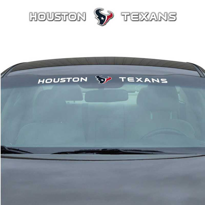 WSDNF32: Houston Texans Auto Windshield Decal