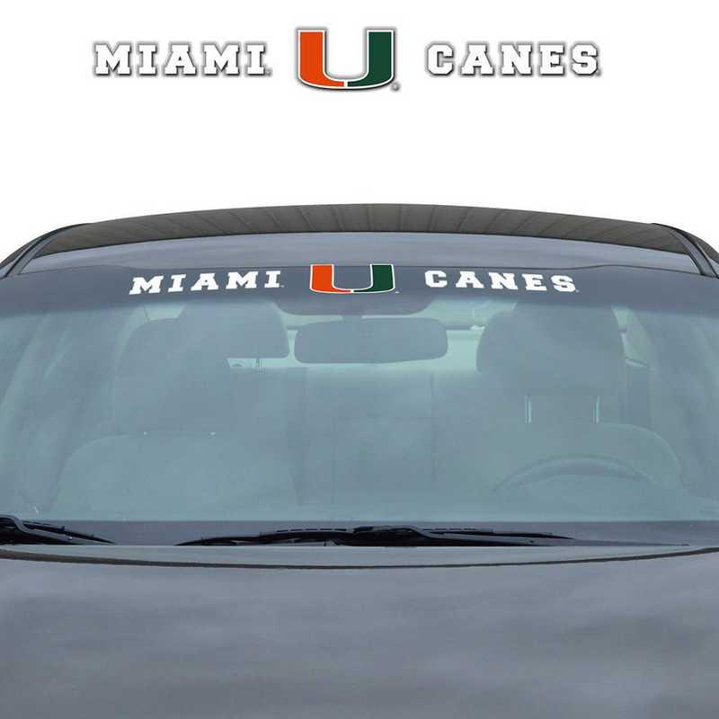 WSDU034: Miami Auto Windshield Decal