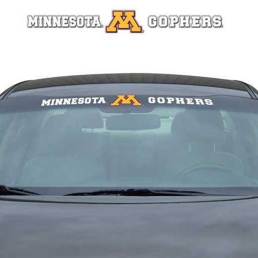 WSDU037: Minnesota Auto Windshield Decal