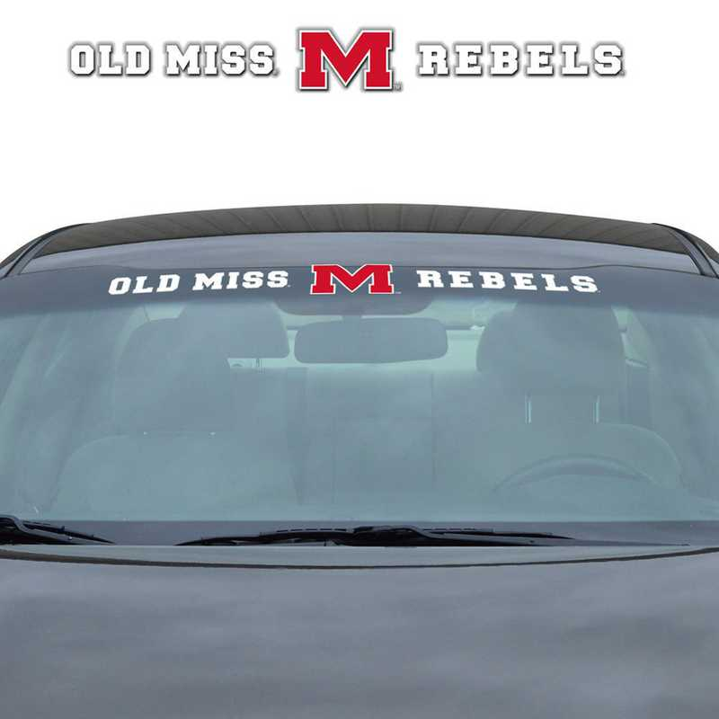 WSDU038: Mississippi Auto Windshield Decal