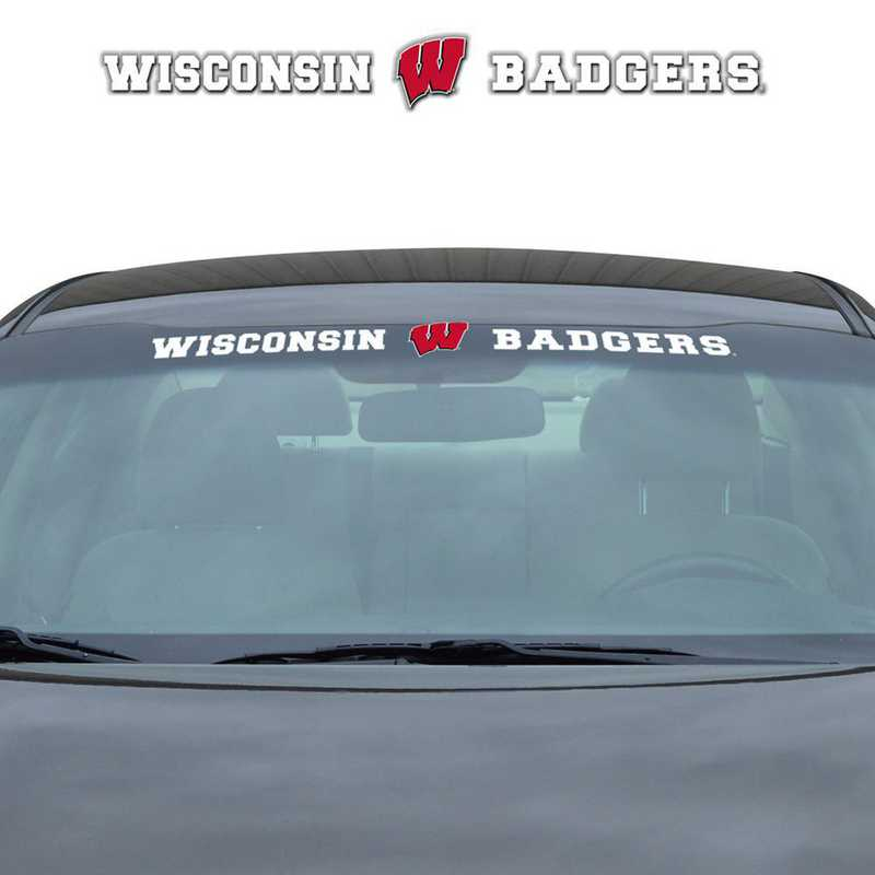 WSDU080: Wisconsin Auto Windshield Decal