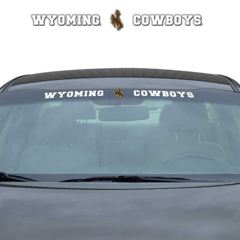 WSDU081: Wyoming Auto Windshield Decal
