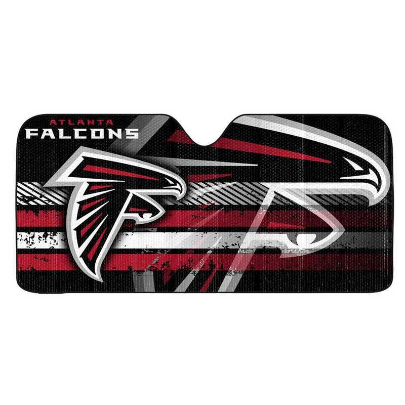 AS2NF02: Atlanta Falcons Universal Auto Sun Shade