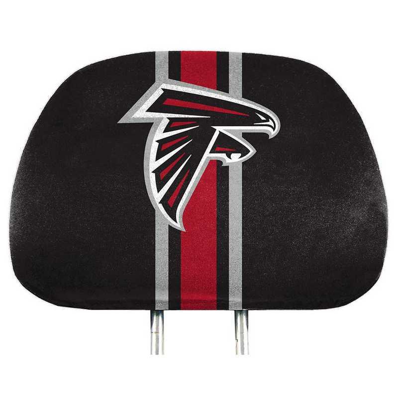 HRPNF02: Atlanta Falcons Printed Auto Headrest Cover Set