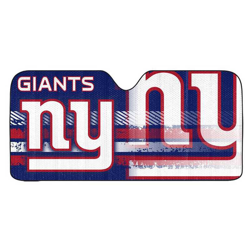 AS2NF20: New York Giants Universal Auto Sun Shade
