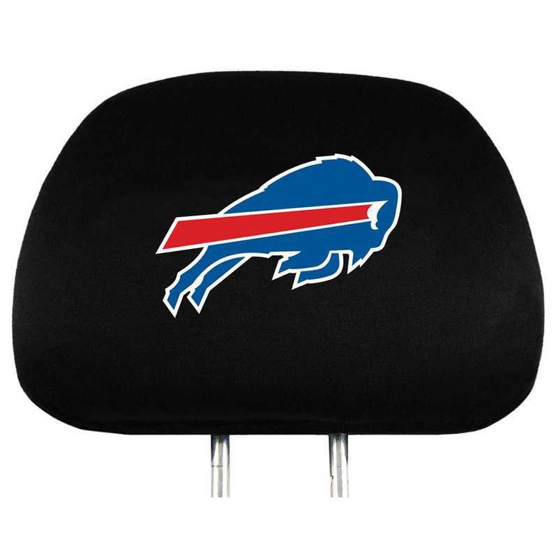 HRNF04: Buffalo Bills Embroidered Headrest Cover Set