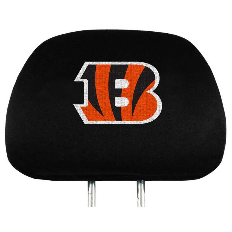 HRNF07: Cincinnati Bengals Embroidered Headrest Cover Set