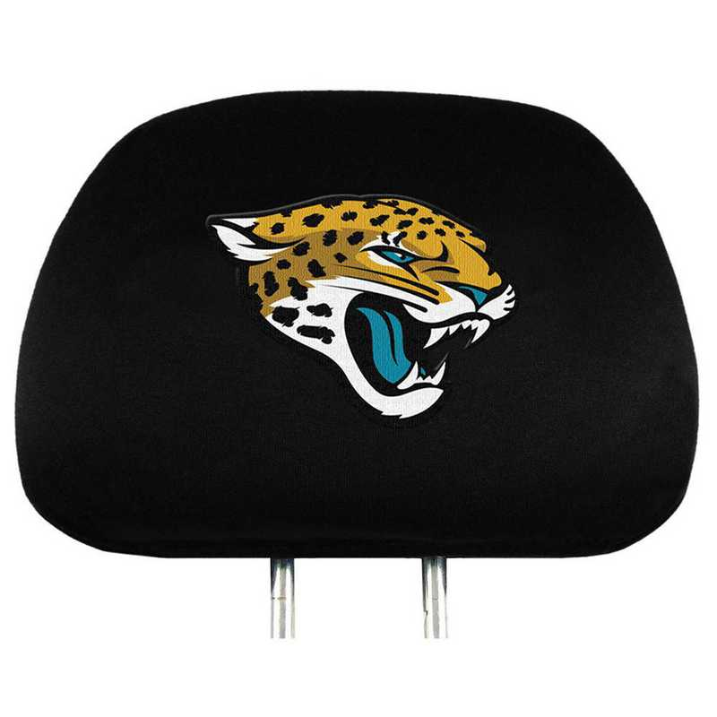 HRNF14: Jacksonville Jaguars Embroidered Headrest Cover Set