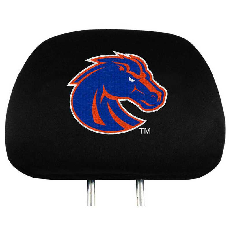 HRU009: Boise State Embroidered Headrest Cover Set