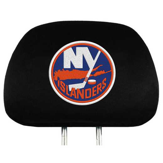 HRNH18: New York Islanders Embroidered Headrest Cover Set