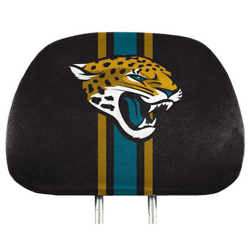 HRPNF14: Jacksonville Jaguars Printed Auto Headrest Cover Set