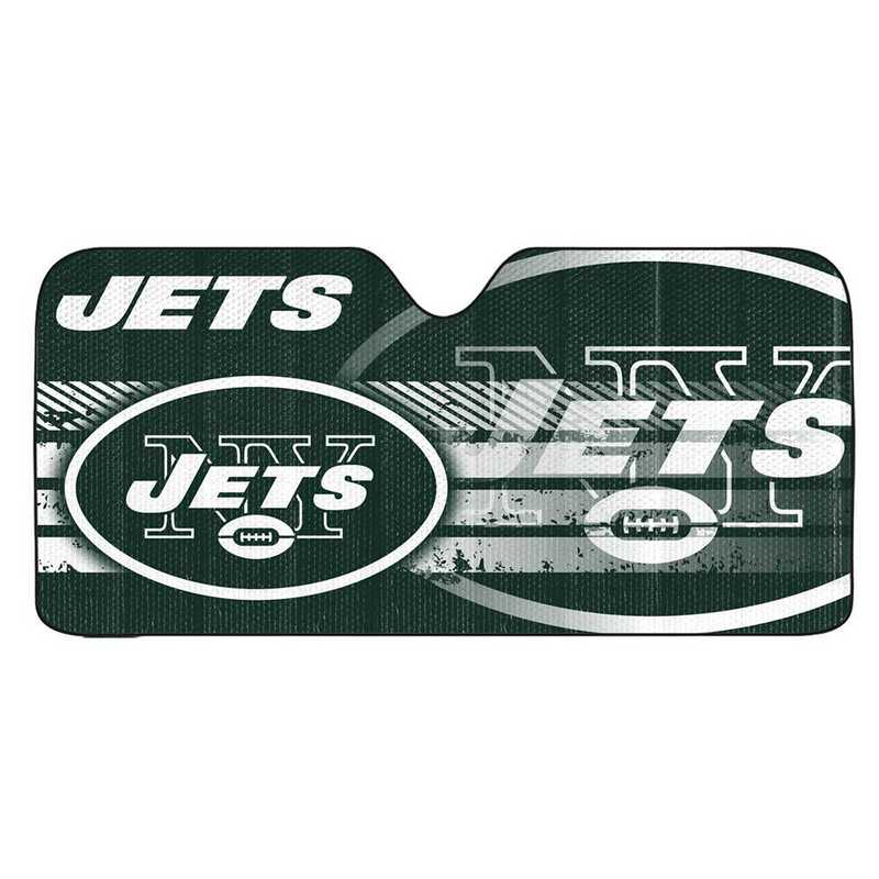 AS2NF21: New York Jets Universal Auto Sun Shade