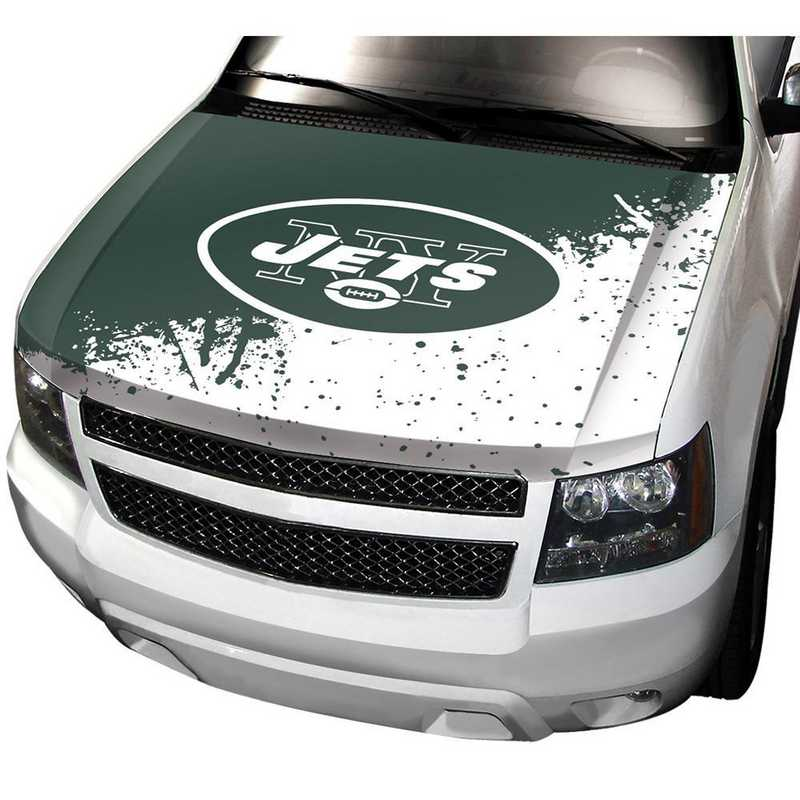 HCNF21: New York Jets Auto Hood Cover