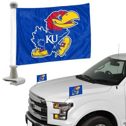 ABFU027: Kansas Auto Ambassador Flag Pair