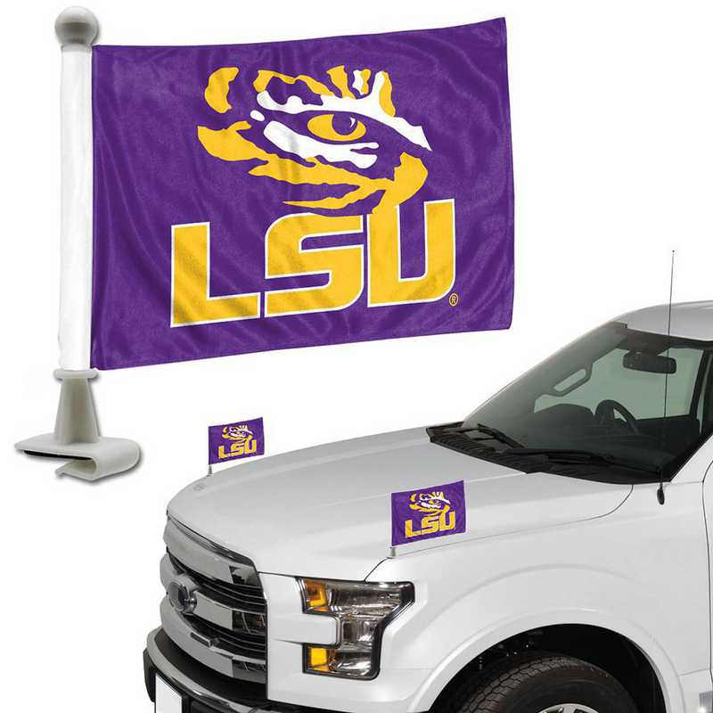 ABFU030: LSU Auto Ambassador Flag Pair
