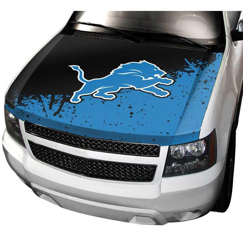 HCNF11: Detroit Lions Auto Hood Cover