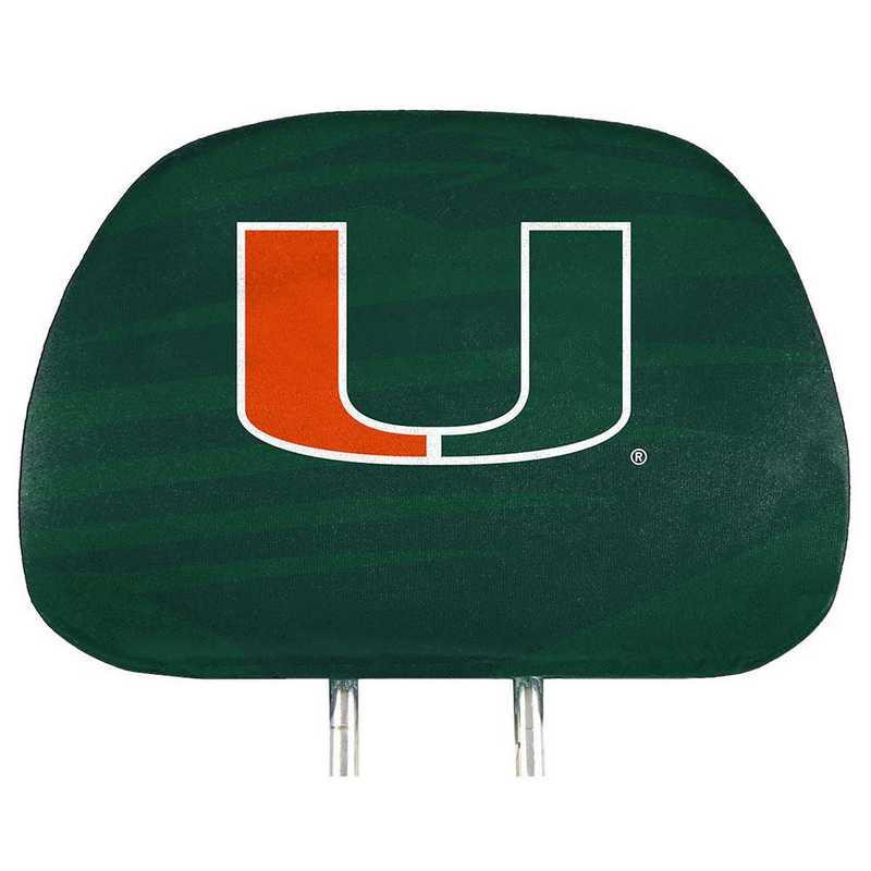 HRPU034: Miami Printed Auto Headrest Cover Set