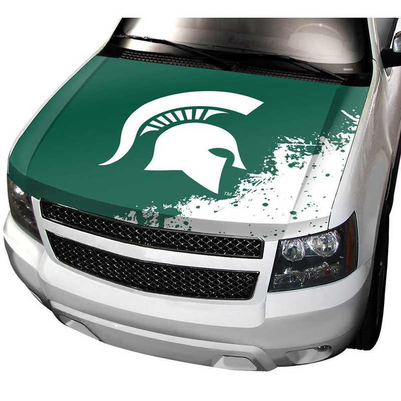 HCU036: Michigan State Auto Hood Cover