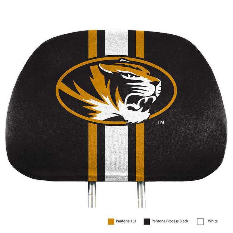 HRPU040: Missouri Printed Auto Headrest Cover Set