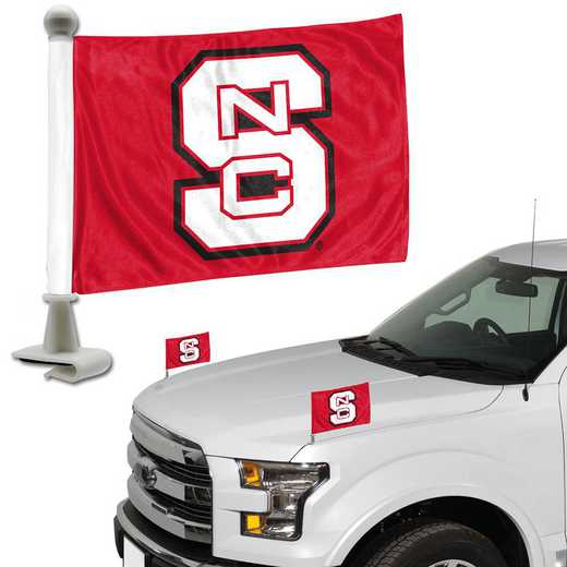 ABFU046: North Carolina State Auto Ambassador Flag Pair