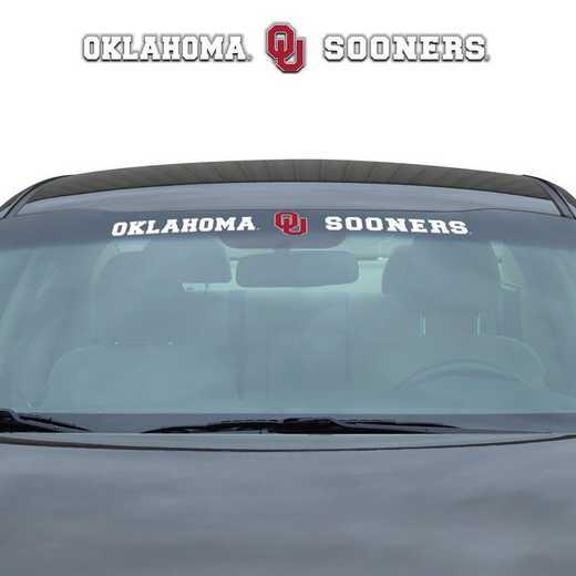 WSDU051: Oklahoma State Auto Windshield Decal