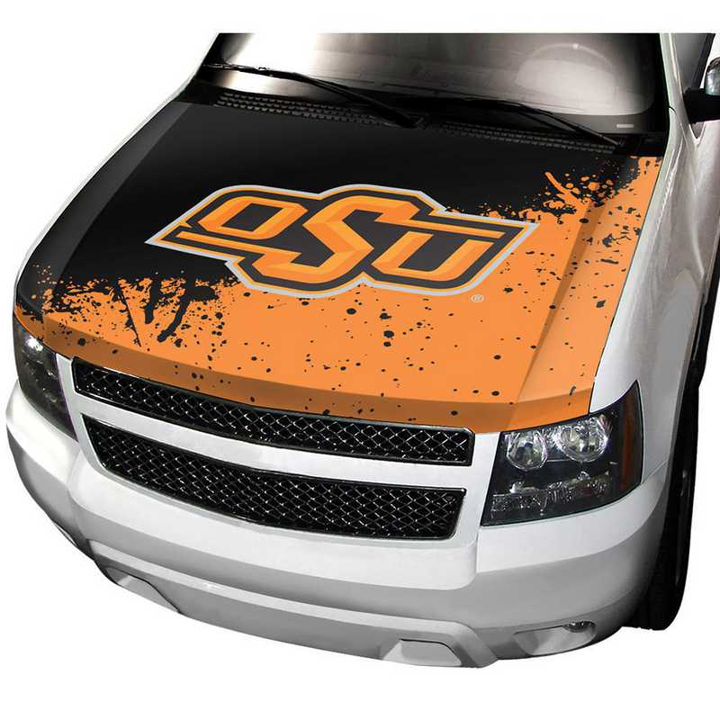 HCU051: Oklahoma State Auto Hood Cover