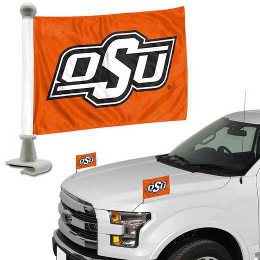 ABFU051: Oklahoma State Auto Ambassador Flag Pair
