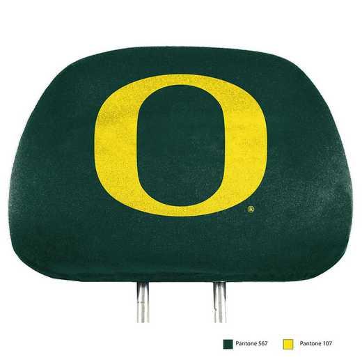 HRPU052: Oregon Printed Auto Headrest Cover Set