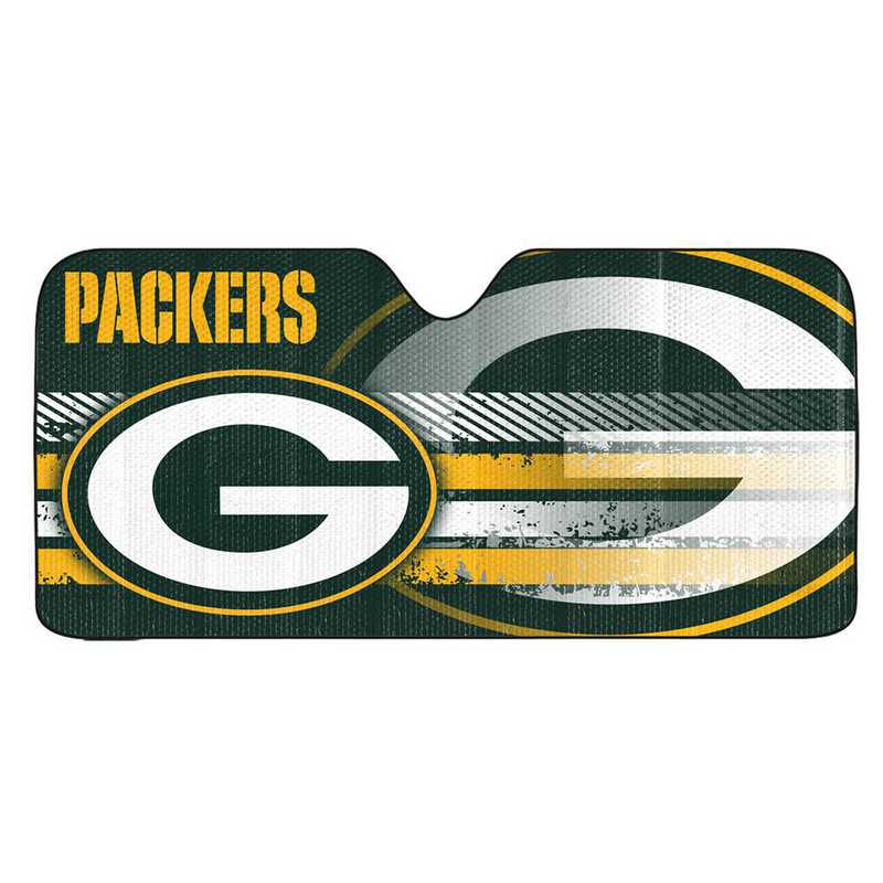 AS2NF12: Green Bay Packers Universal Auto Sun Shade