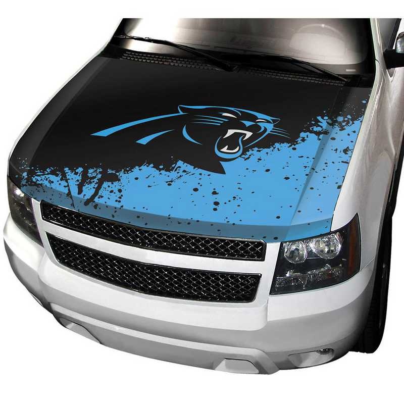 HCNF05: Carolina Panthers Auto Hood Cover