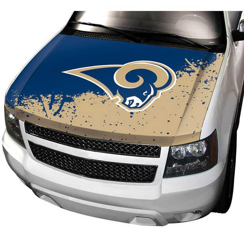 HCNF28: LA Rams Auto Hood Cover