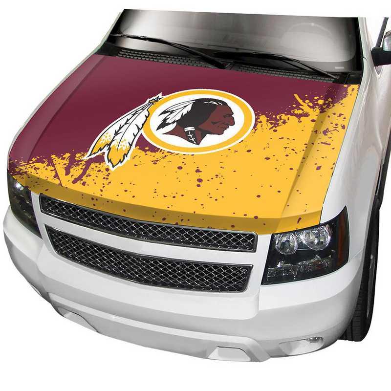 HCNF31: Washington Redskins Auto Hood Cover