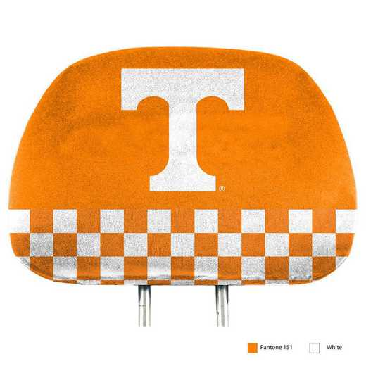 HRPU065: Tennessee Printed Auto Headrest Cover Set