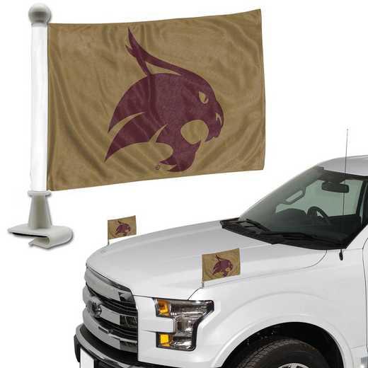ABFU069: Texas State Auto Ambassador Flag Pair