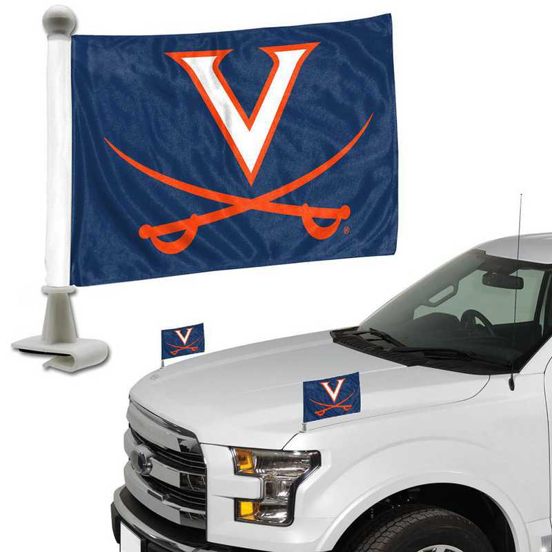 ABFU074: Virginia Auto Ambassador Flag Pair