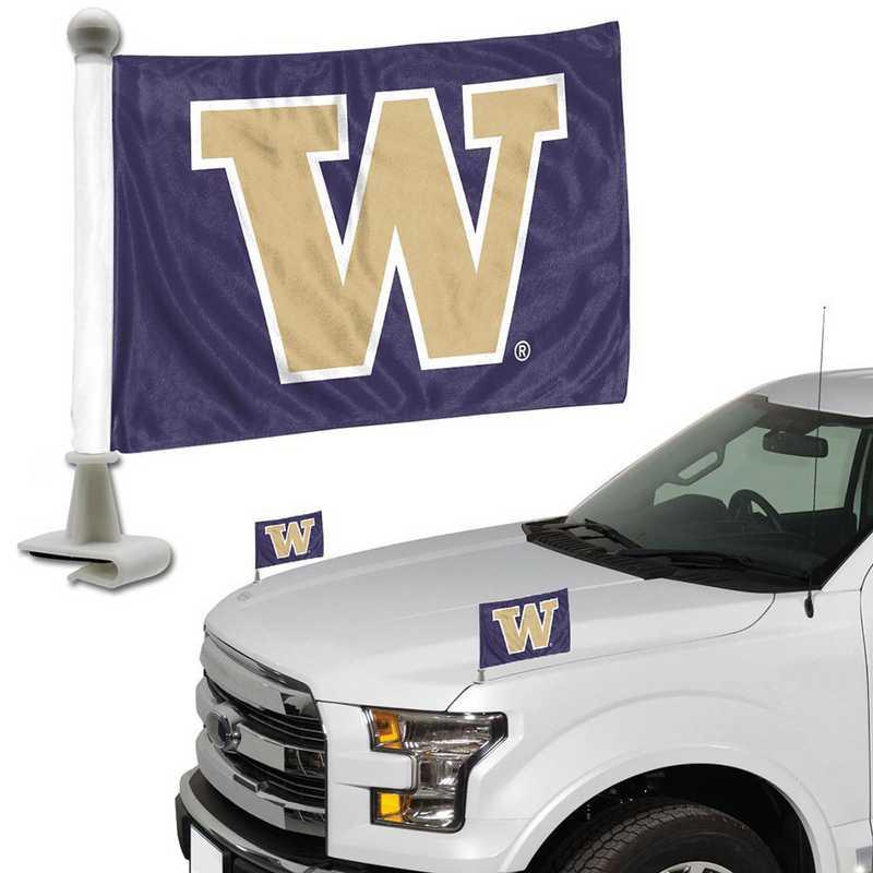 ABFU077: Washington Auto Ambassador Flag Pair