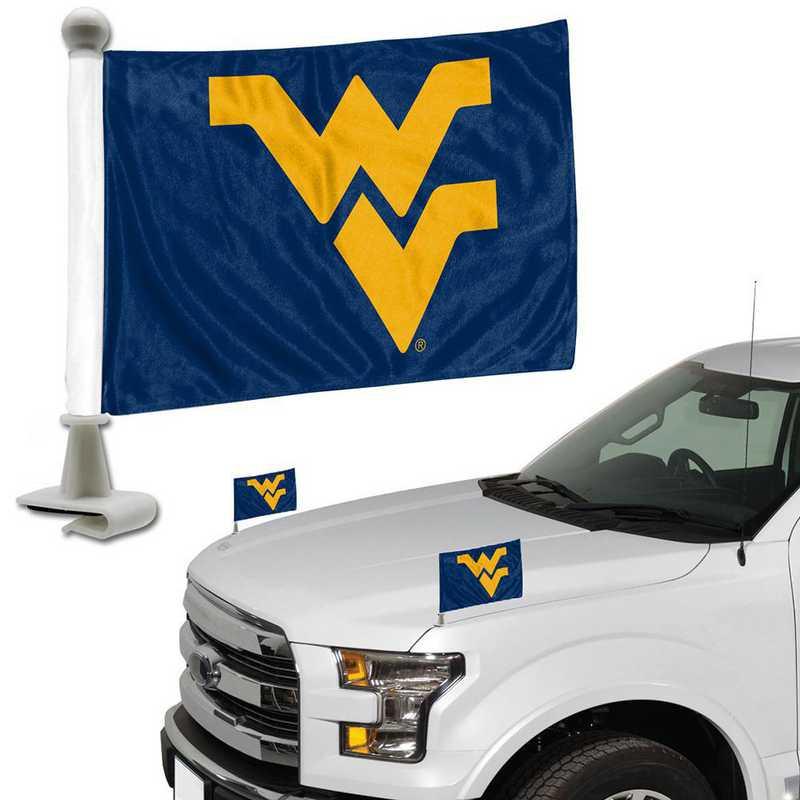 ABFU079: West Virginia Auto Ambassador Flag Pair