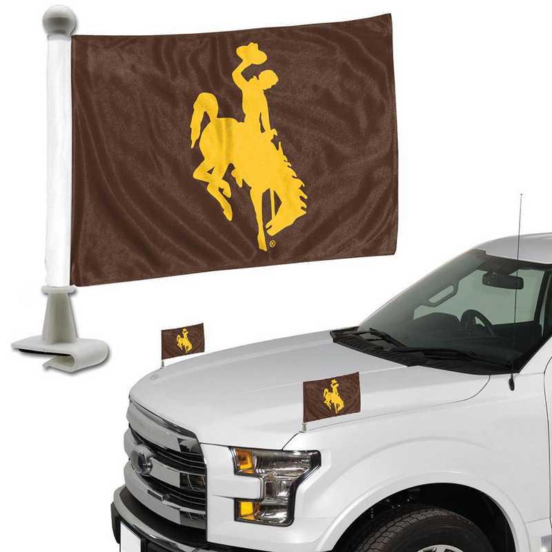 ABFU081: Wyoming Auto Ambassador Flag Pair