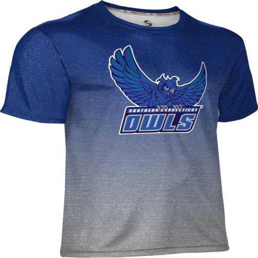 Southern Connecticut State University Men's Performance T-Shirt (Ombre)