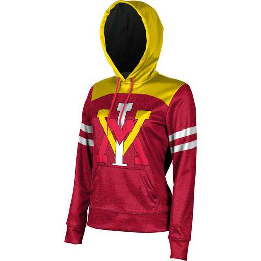 Virginia Military Institute University Women's Pullover Hoodie, School Spirit Sweatshirt (Game Day)